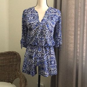 Lilly Pulitzer jersey romper